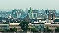 Blick über Köln-Deutz, Severinsbrücke bis zu den Kranhäusern, Rheinauhafen-2034.jpg