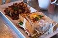 Blue Star Diner Stuffed French Toast (25853380390).jpg
