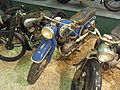 Blue and silver colored NSU motorcycle at the Ford museum pic4.JPG