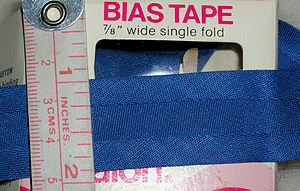 Bias tape - Single-fold bias tape
