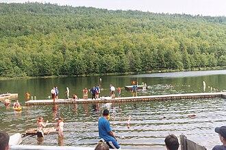 Westchester–Putnam Council - A boat race in Waubeeka Lake