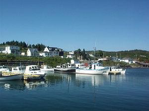 Dildo, Newfoundland and Labrador - Image: Boats in Dildo Harbour
