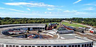 North Carolina Transportation Museum - Bob Julian Roundhouse