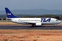Boeing 737-3M8, TEA - Trans European Airways JP6168750.jpg