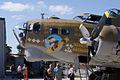 Boeing B-17G-85-DL Flying Fortress Nine-O-Nine LNoseArt CFatKAM 09Feb2011 (14797247800).jpg
