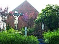 Boeschepe (Nord, Fr) Calvaire et chapelle à la frontière avec la Belgique.JPG