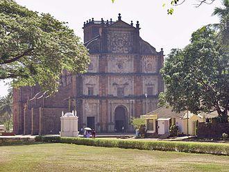Architecture of Goan Catholics - Image: Bom jesus