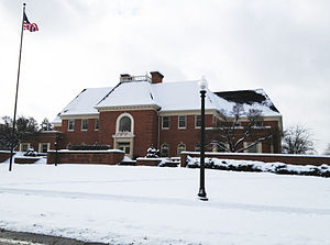 Alfred Bryan Bonds - Bonds Hall on BW's south end of campus