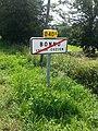 Bonnu (Cuzion) - Panneau sortie agglomération.jpg