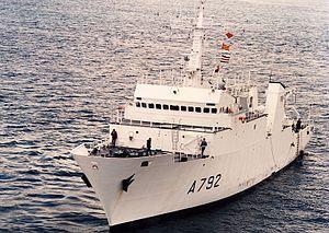 French ship Borda - Image: Borda