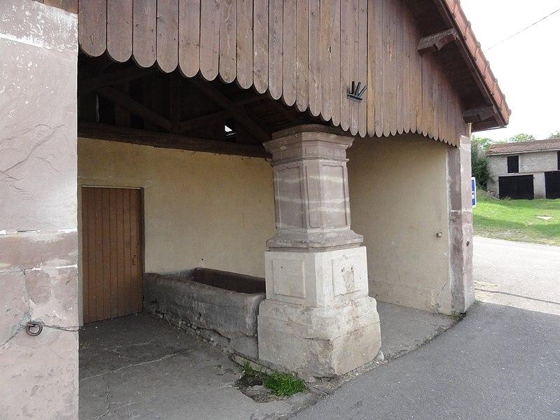 Borville (M-et-M) lavoir