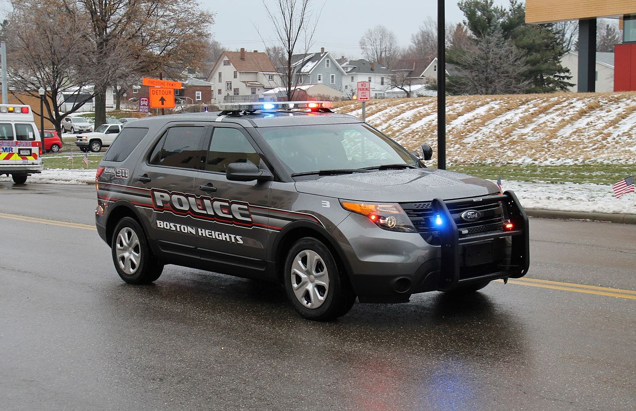 Ford Explorer Police Car Decals