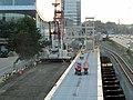 Boston Landing station construction detail, July 2016.JPG
