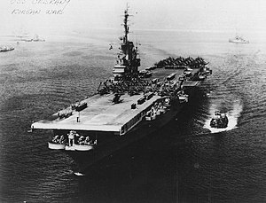 The Bridges at Toko-Ri - USS Oriskany during the Korean War