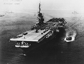 The Bridges at Toko-Ri - USS Oriskany during the Korean War