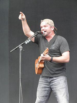 Brad Corrigan - Brad Corrigan at  Hurricane Festival, Germany 2014