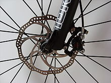 Bikes Mechanical Vs Hydraulic Disk Brakes A hydraulic front disc brake