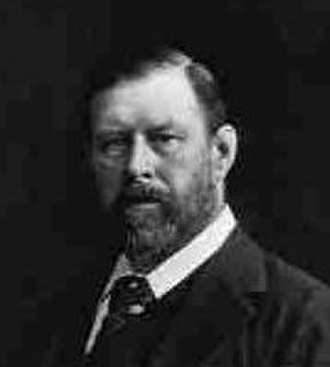 "University Philosophical Society - Bram Stoker, former President of the Society, who presented ""Sensationalism in Fiction and Society"" as his first paper"