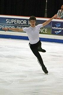 Brandon Mroz American figure skater