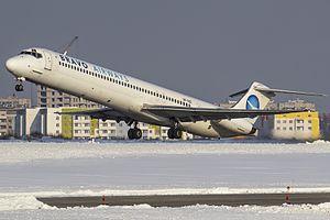 Bravo Airways - Bravo Airways McDonnell Douglas MD-83