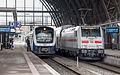 Bremen Hbf. mit NWB nach Nordenham und IC nach Leipzig IMG 1715.jpg