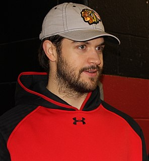 Brent Seabrook Canadian ice hockey player