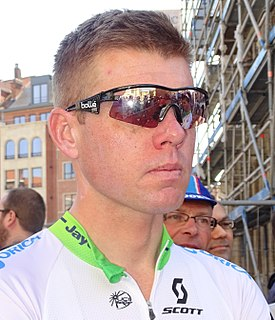 Brett Lancaster Racing cyclist