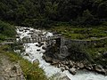 Bridge on the Pindari river near Dwali 2, Uttarakhand, India.jpg