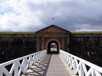 Fort George, Highland - Image: Bridge to Fort George geograph.org.uk 150207