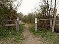 Bridleway through Brookes Nature Reserve - geograph.org.uk - 402069.jpg
