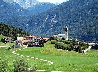 Brienz/Brinzauls Former municipality of Switzerland in Graubünden