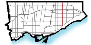thoroughfare in Toronto, Ontario
