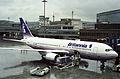 Britannia Airways Boeing 767-200; G-BNYS@ZRH;18.03.1995 (4712643395).jpg