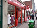 British Heart Foundation shop, Sidwell street, Exeter. - geograph.org.uk - 1302688.jpg