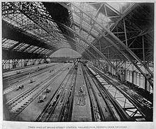 Variant Broad street station philadelphia vintage photographs