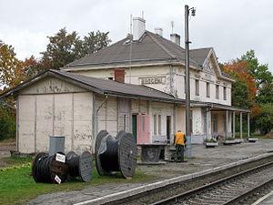 Brocēni - Brocēni train station