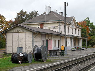 Brocēni - Brocēni train station