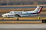 Bromma Air Maintenance, SE-KDK, Beechcraft B200 Super King Air (47630663431).jpg
