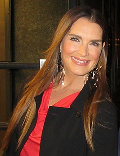 Brooke Shields American actress and model