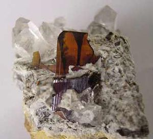 Brookite - Brookite from Pakistan