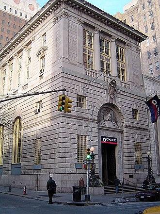Brooklyn Trust Company - Brooklyn Trust Company Building, January 2007