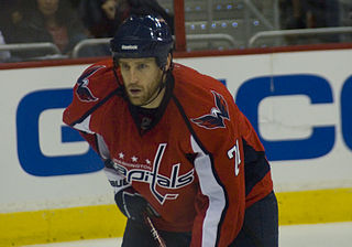 Brooks Laich ice hockey player
