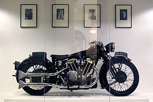 Brough Superior - Image: Brough Superior of T.E. Lawrence