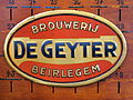 Brouwerij De Geyter, old metal advertising sign.JPG