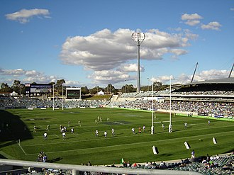 Brumbies - Canberra Stadium, the home of the Brumbies