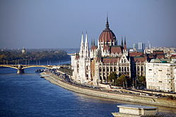 Budapest's magnificent parliament building