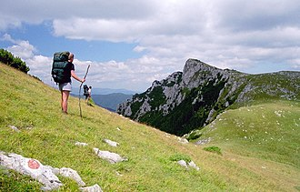 Protected areas of Romania - Image: Buila 01