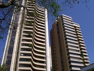 Campinas - Luxury condos at Cambuí, a wealthy neighbourhood of Campinas.