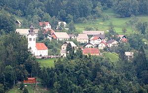 Bukovo, Cerkno - Image: Bukovo Cerkno Slovenia 2