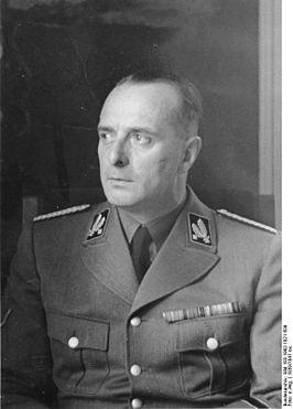 Hanns Albin Rauter als SS-Brigadeführer (1939)